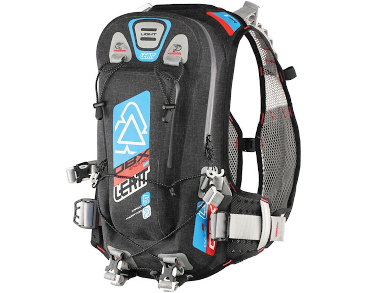 Leatt Enduro Lite WP 2.0 Hydration Pack (Black/Blue/Orange) (70oz/2L)