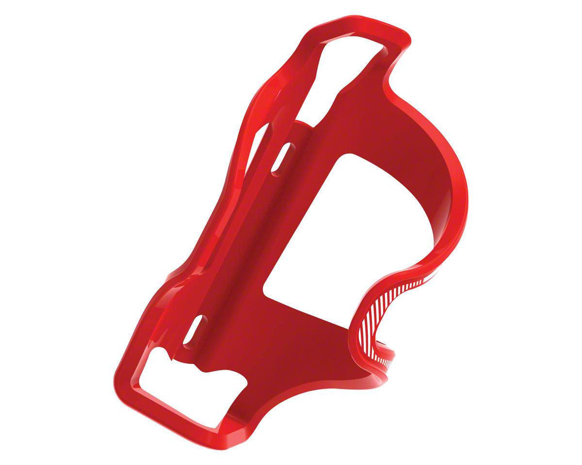 Lezyne Flow Water Bottle Cage Side Loader (Left Hand) (Red)