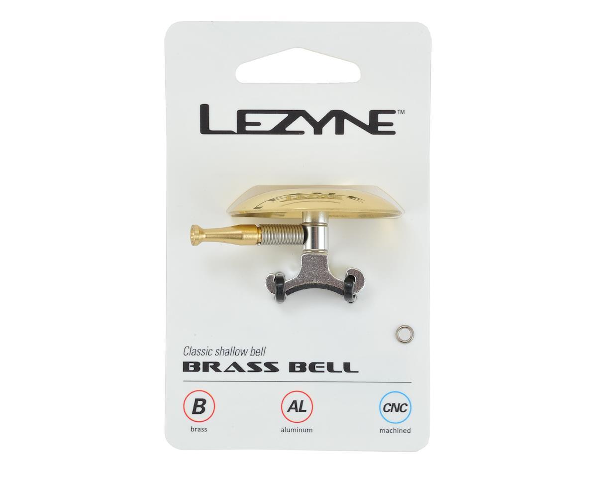 Lezyne Classic Shallow Brass Bike Bell