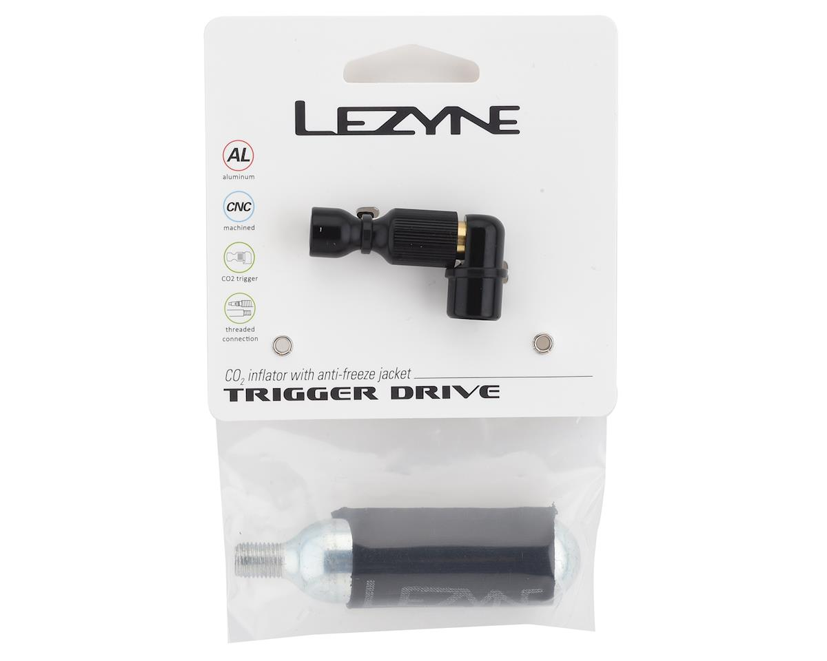 Lezyne Trigger Drive CO2 Inflator (Black/Chrome)