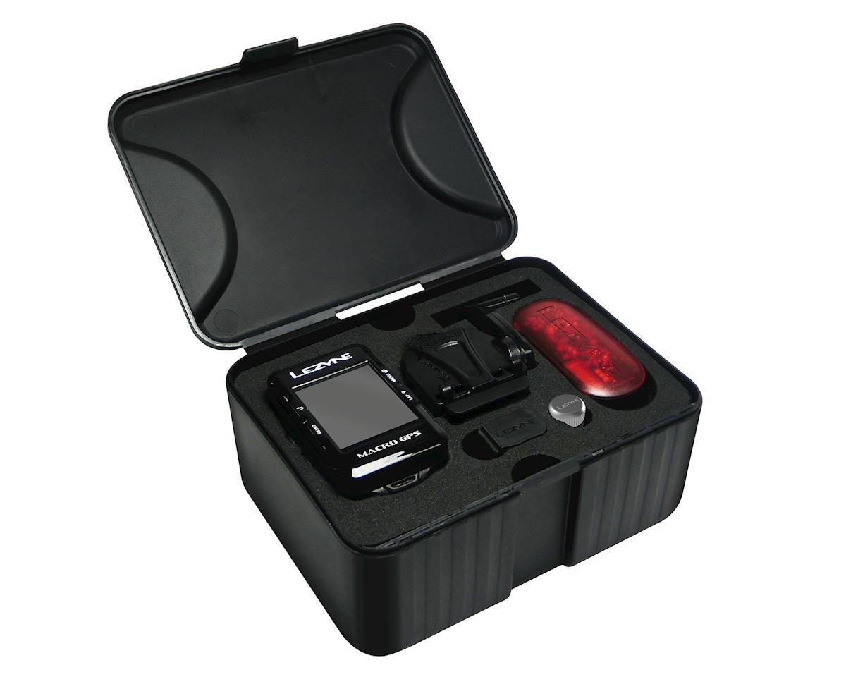 Lezyne Macro GPS Loaded Cycling Computer w/ Heart Rate & Speed/Cadence Sensor