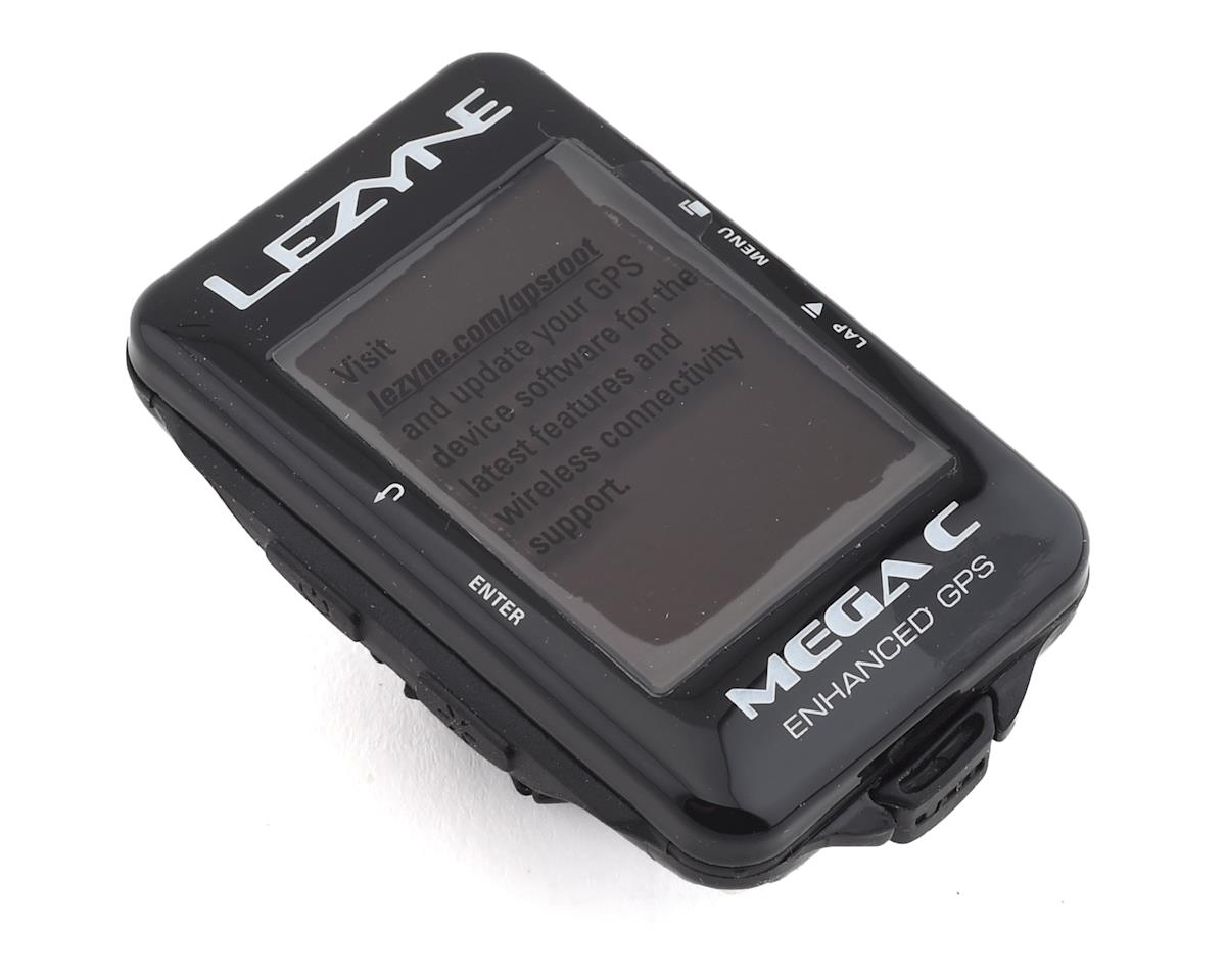 Lezyne Mega C GPS Computer Loaded Pack (Black) | relatedproducts