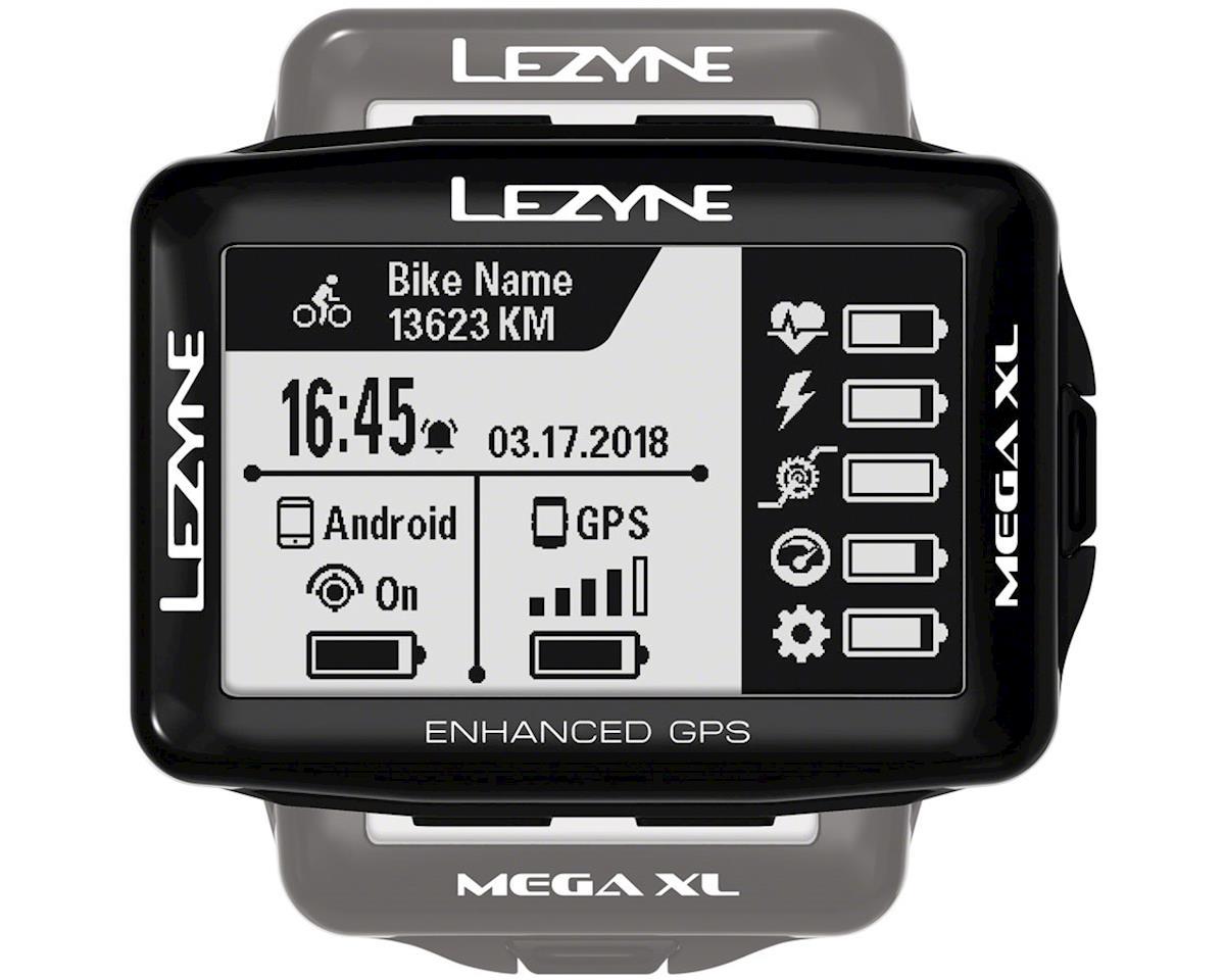 Lezyne Mega XL GPS Computer (Black)