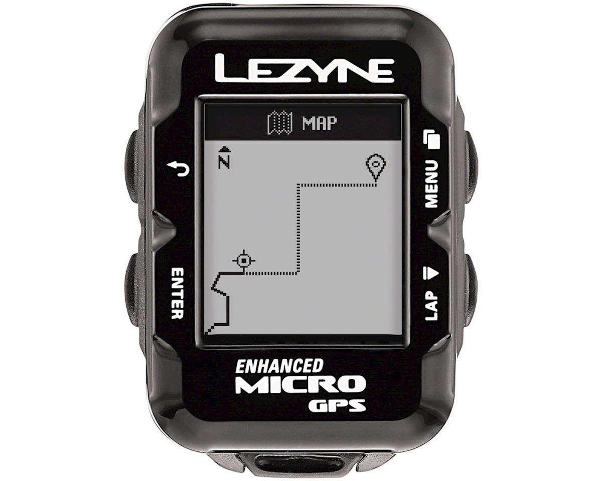 Lezyne Micro GPS Loaded Cycling Computer w/ Heart Rate (Black)