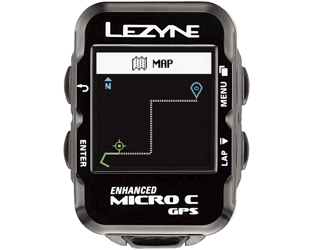 Lezyne Micro Color GPS Loaded Cycling Computer w/ Heart Rate (Black)