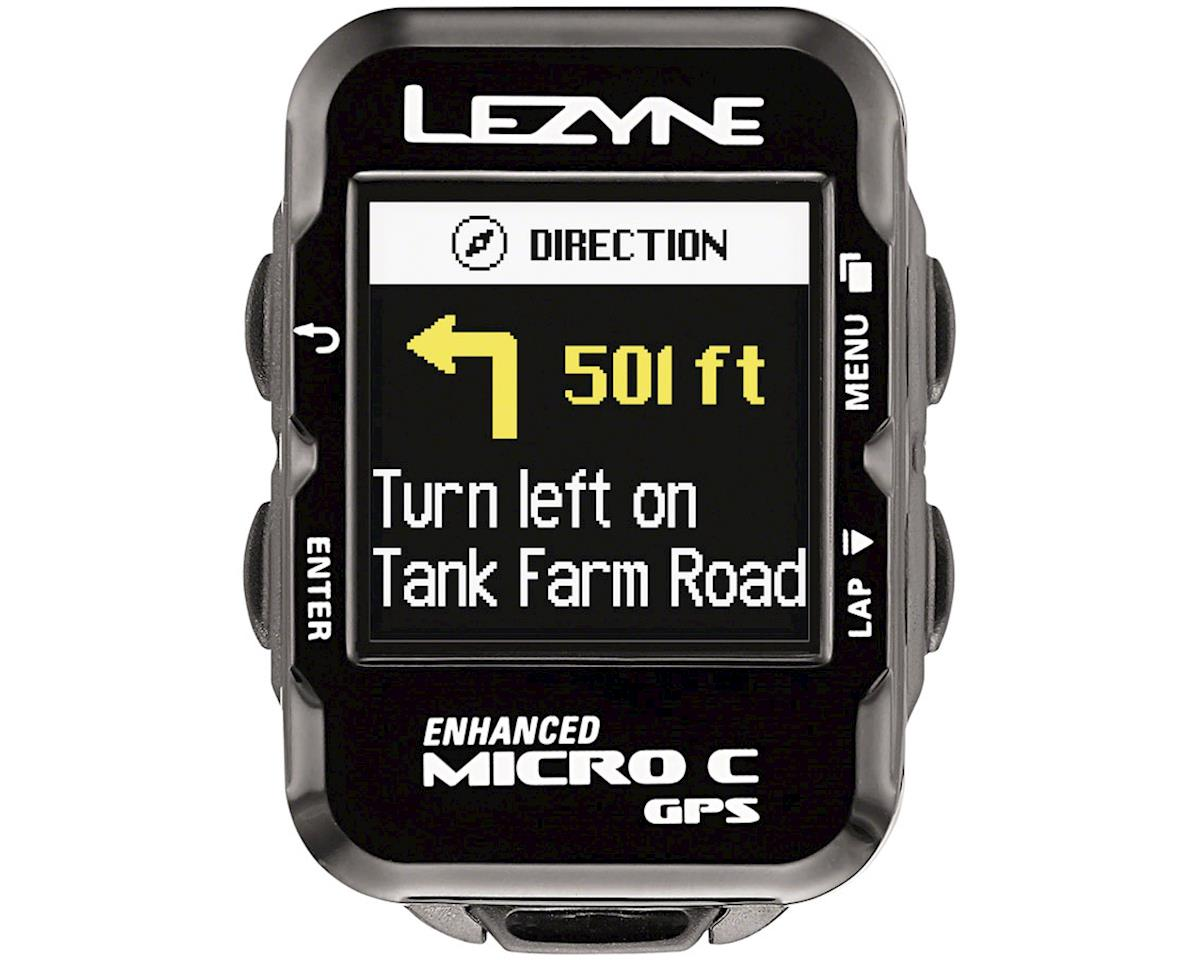 Lezyne Micro Color GPS Loaded Cycling Computer w/ Heart Rate & Speed/Cadence