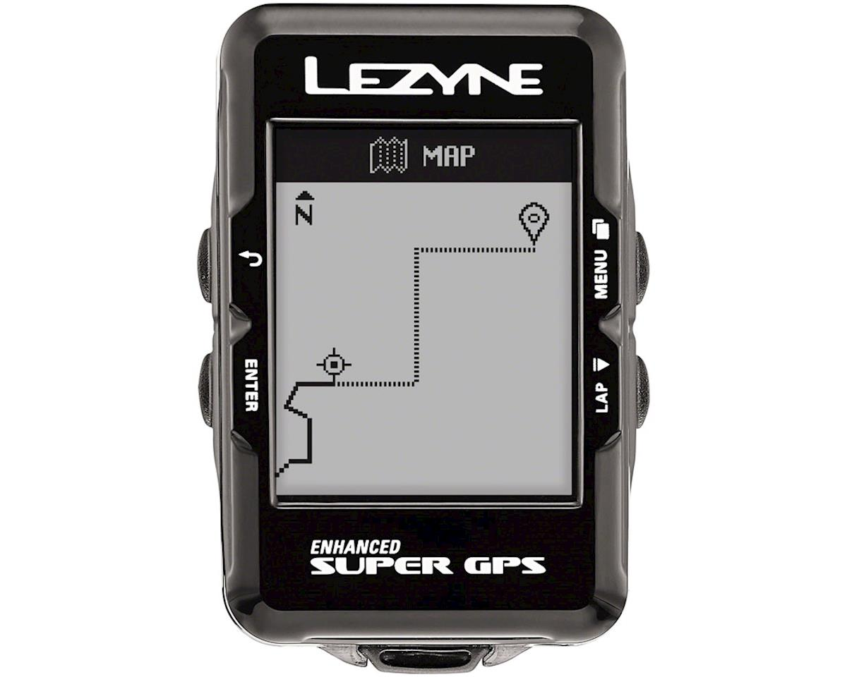 Lezyne Super GPS Loaded Cycling Computer w/ Heart Rate & Speed/Cadence Sensor