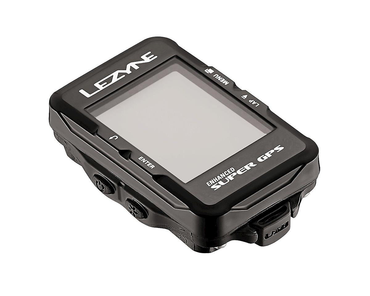 Lezyne Super GPS Cycling Computer (Black)