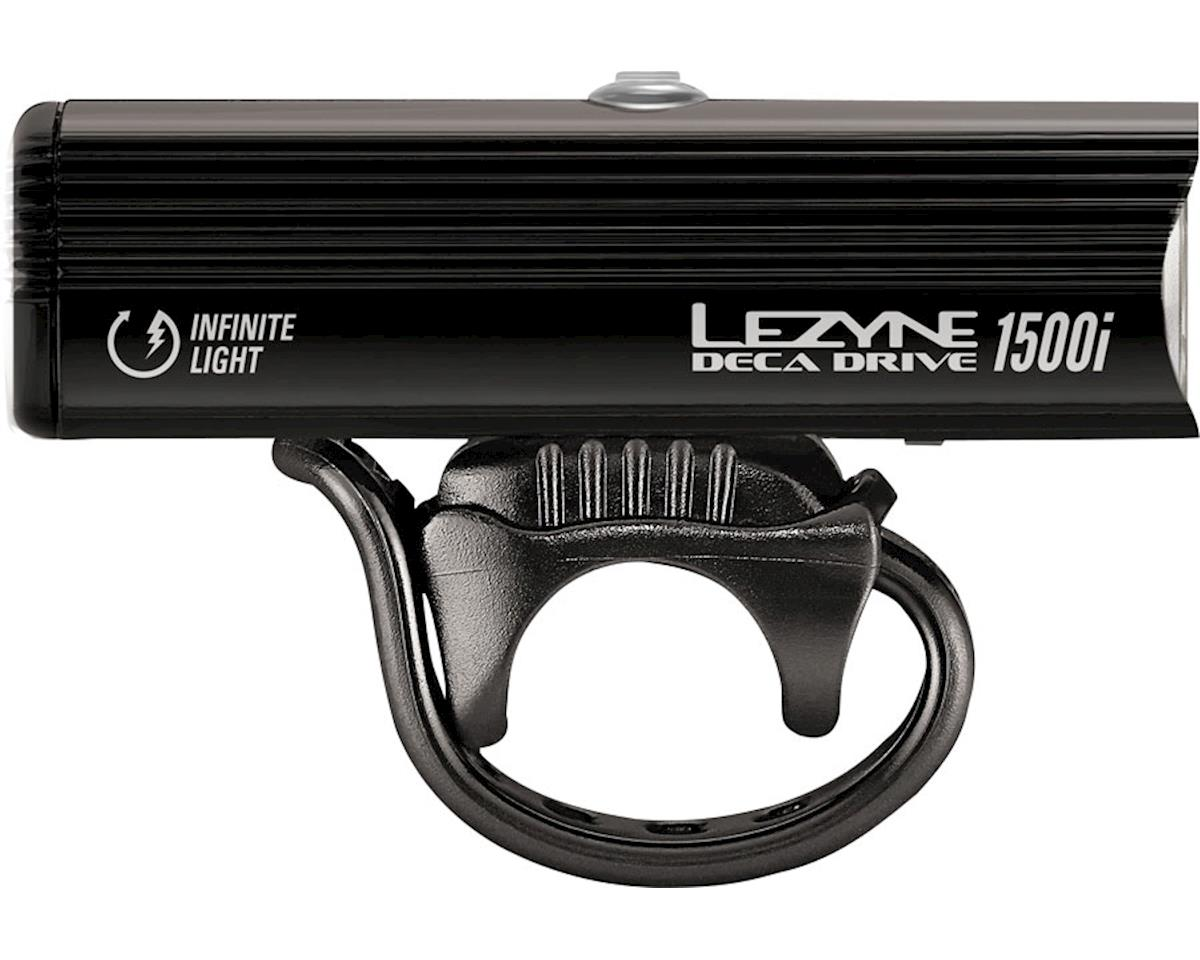 Lezyne Deca Drive 1500I Headlight (Gloss Black)