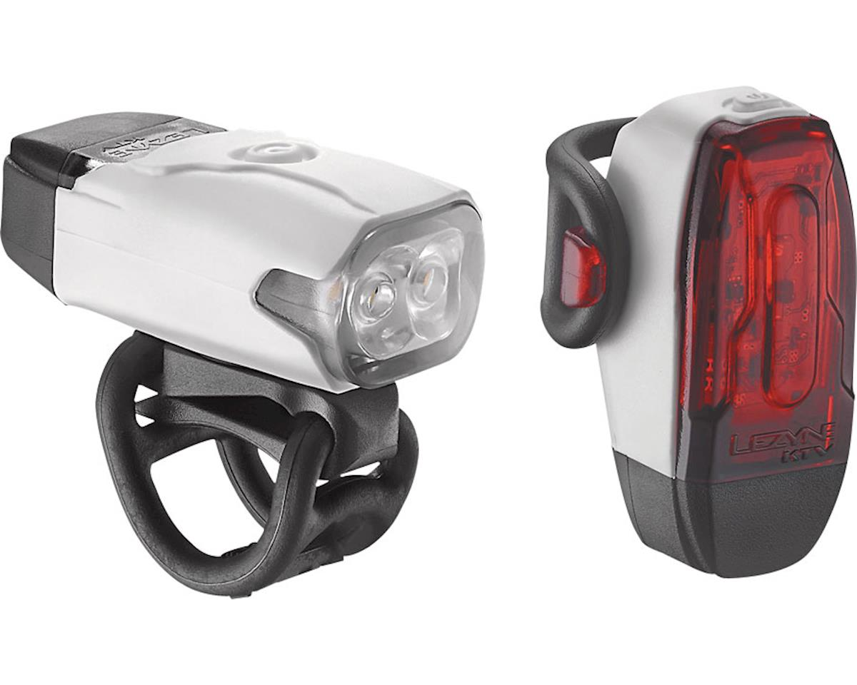 Lezyne LED KTV Drive Headlight & Taillight Set (White)