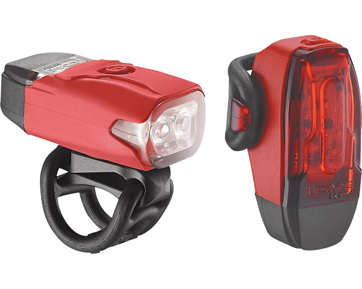 Lezyne LED KTV Drive Headlight & Taillight Set (Red)