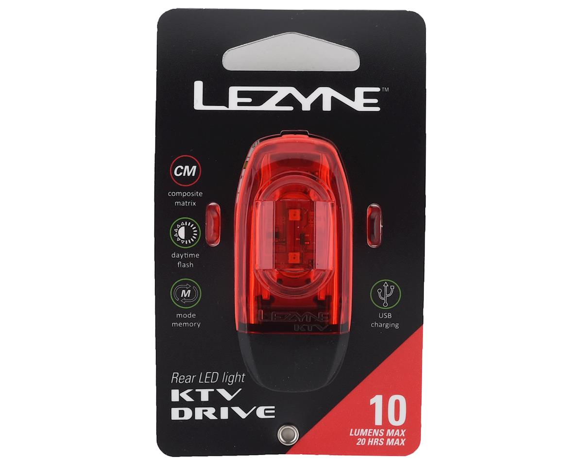 Image 3 for Lezyne KTV Drive Taillight (Red)