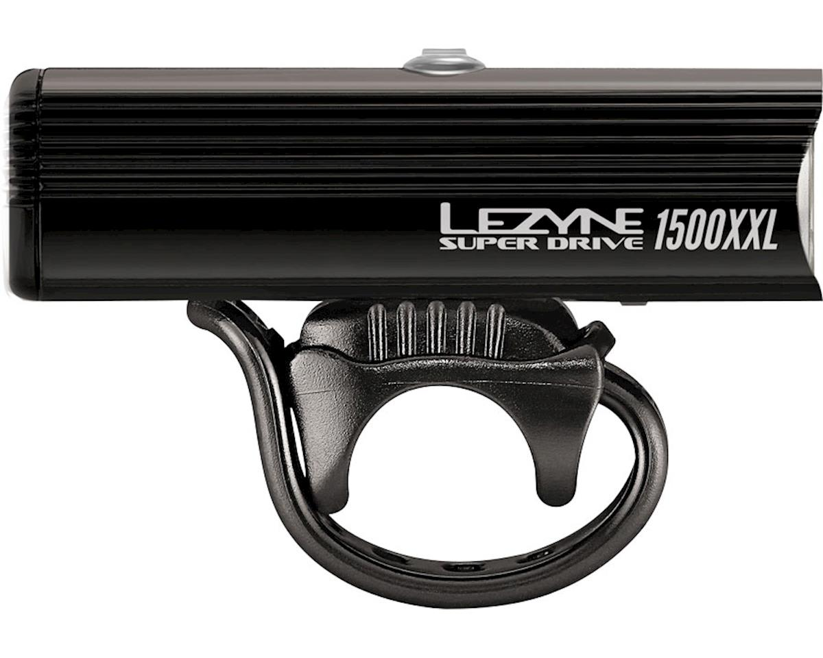 Lezyne Super Drive 1500XXL Headlight (Gloss Black)