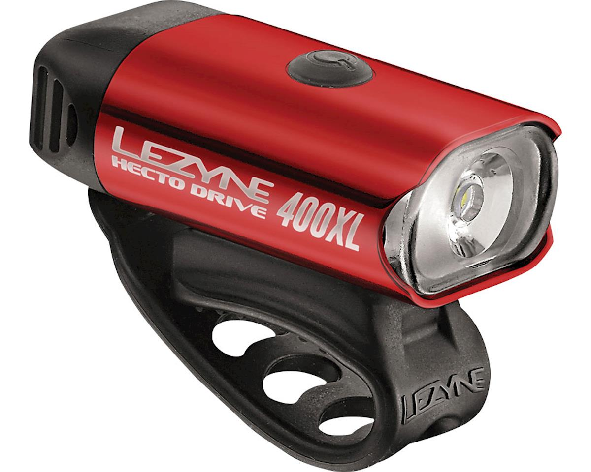 Lezyne Hecto Drive 400XL Headlight (Gloss Red)