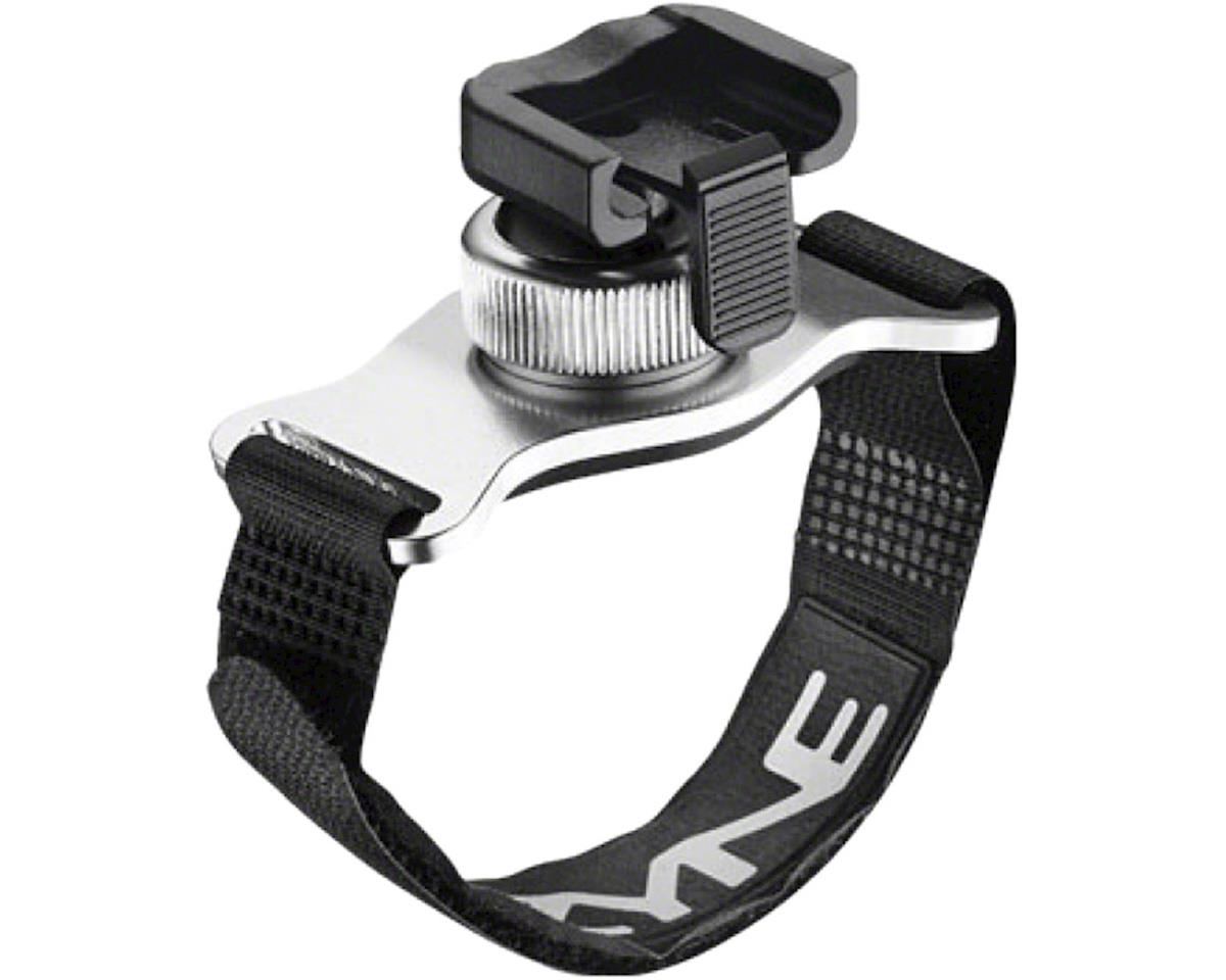 Lezyne Helmet Mount Strap for Head light (Aluminum) (Silver)
