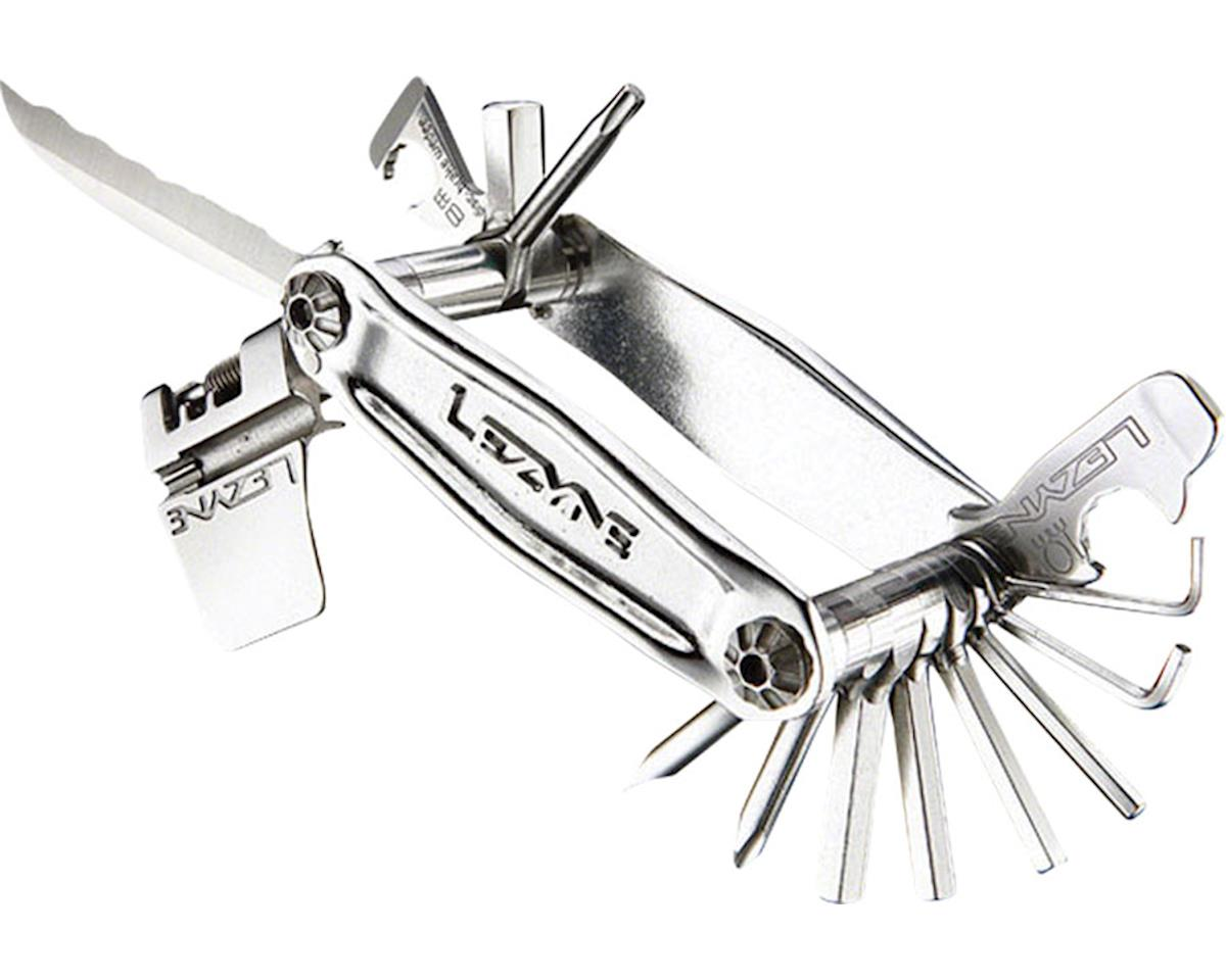 Lezyne Stainless Steel 20 Bit CNC Machined Multi Tool (Silver)