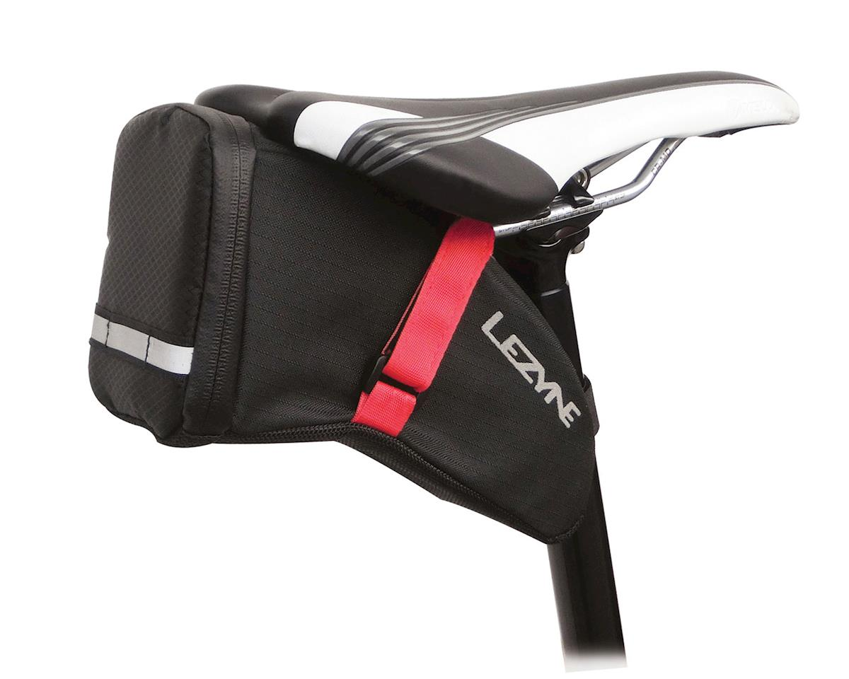Lezyne Aero Caddy Saddle Bag (Black/Red)