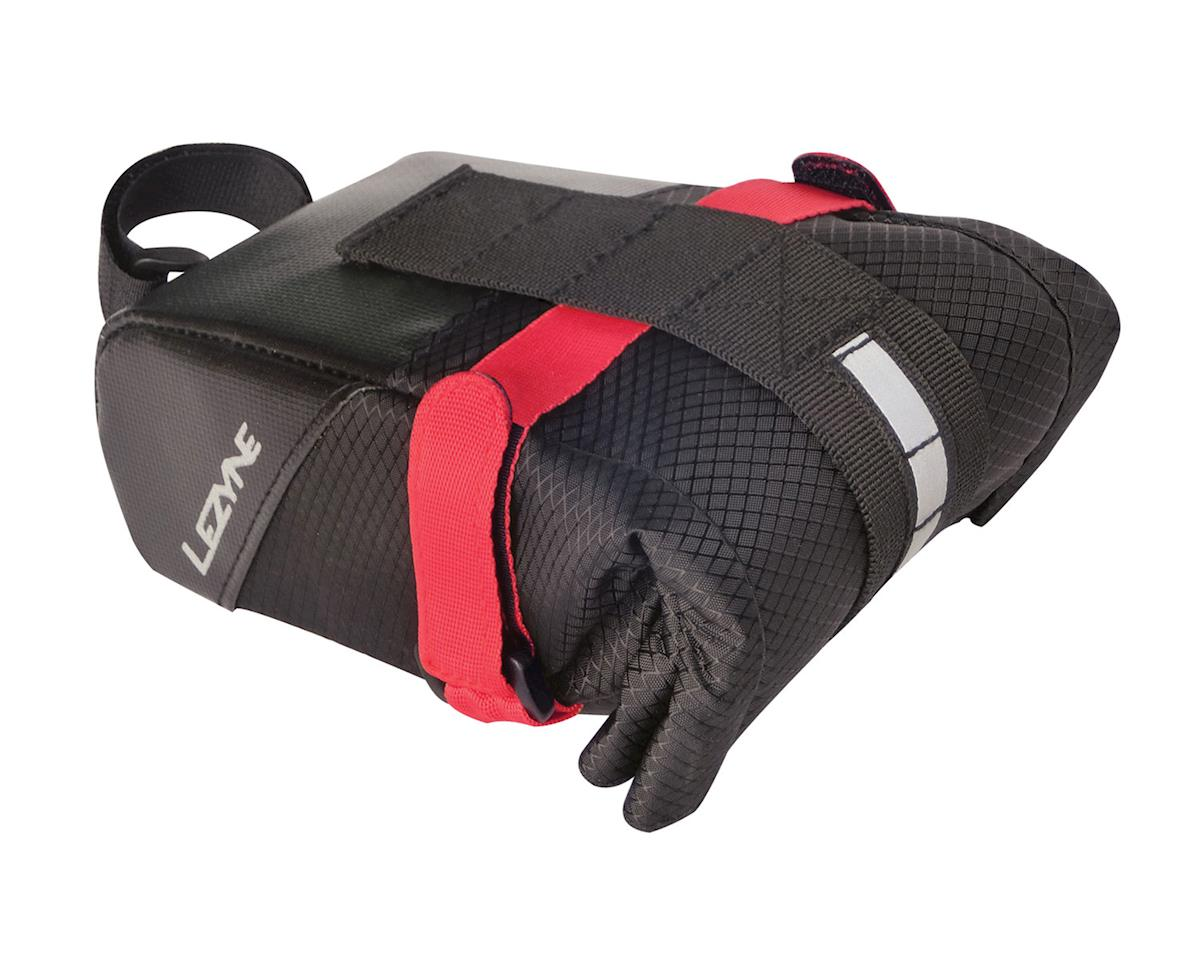 Lezyne Mid Caddy Saddle Bag (Black/Red)