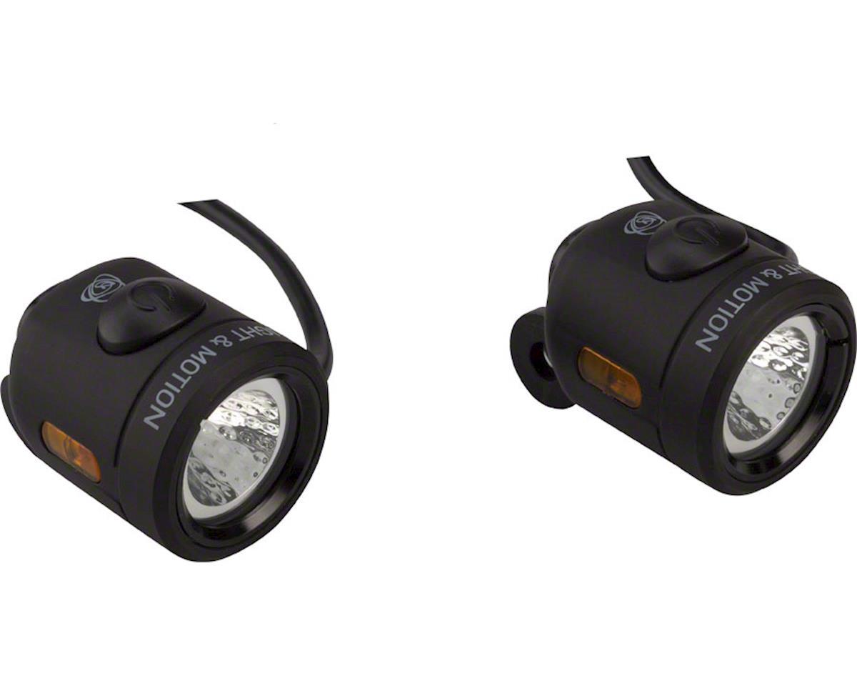Light and Motion Nip-n-Tuck e-Bike Headlight and Tail Light Set