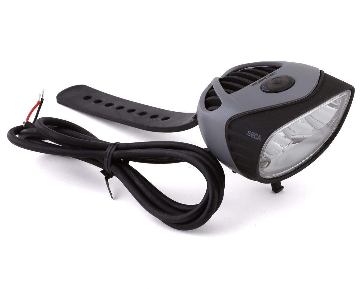 Light and Motion Seca 1800 e-Bike Headlight: Black