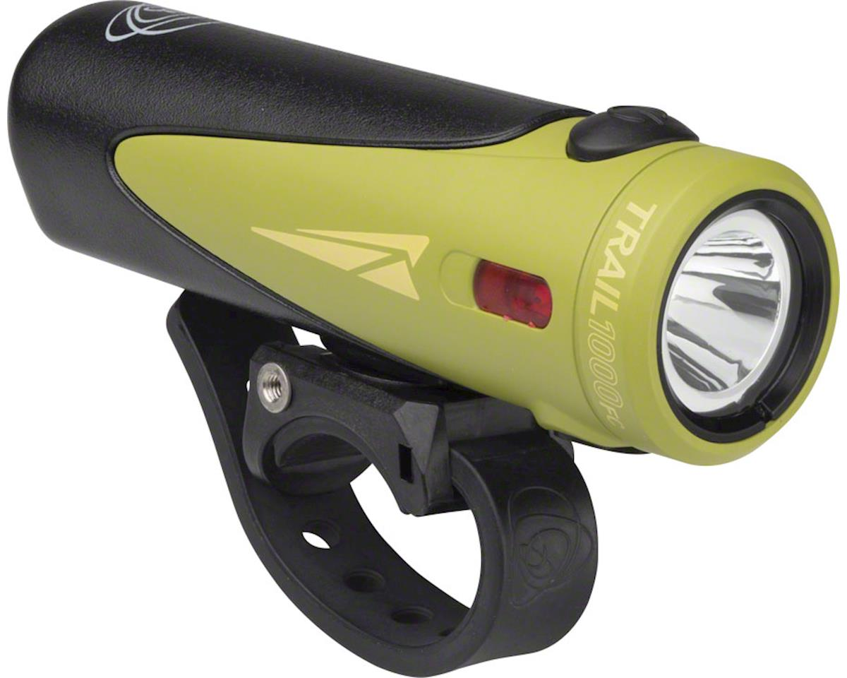 Light And Motion Urban 1000 Trail FastCharge Rechargeable Headlight (Green)