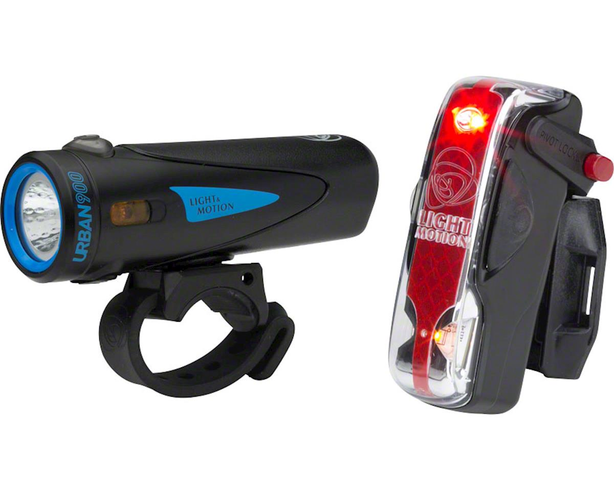 Urban 900/ Vis 180 Pro Combo Rechargeable Headlight and Taillig