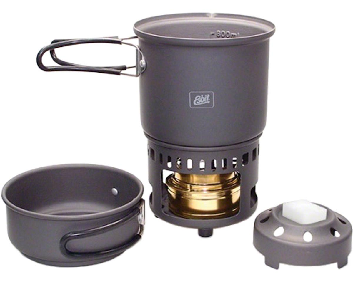 Esbit Alcohol Burner and Cookset