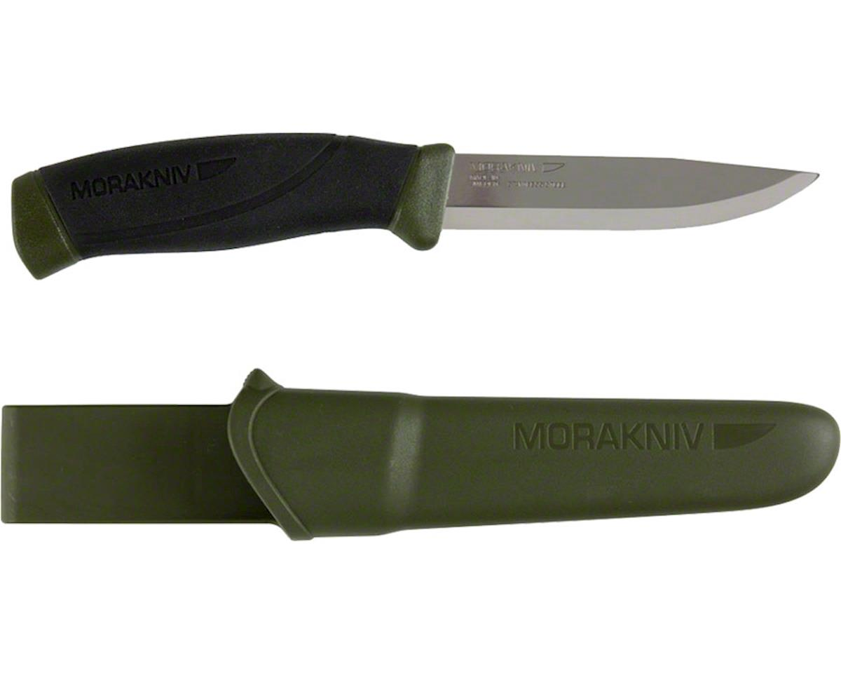 Light My Fire Morakniv Companion Fixed Blade Knife: Green/Black