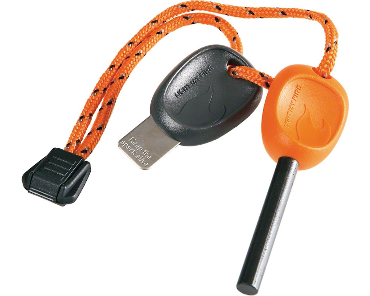 Swedish FireSteel Scout 2.0 Fire Starter: Orange
