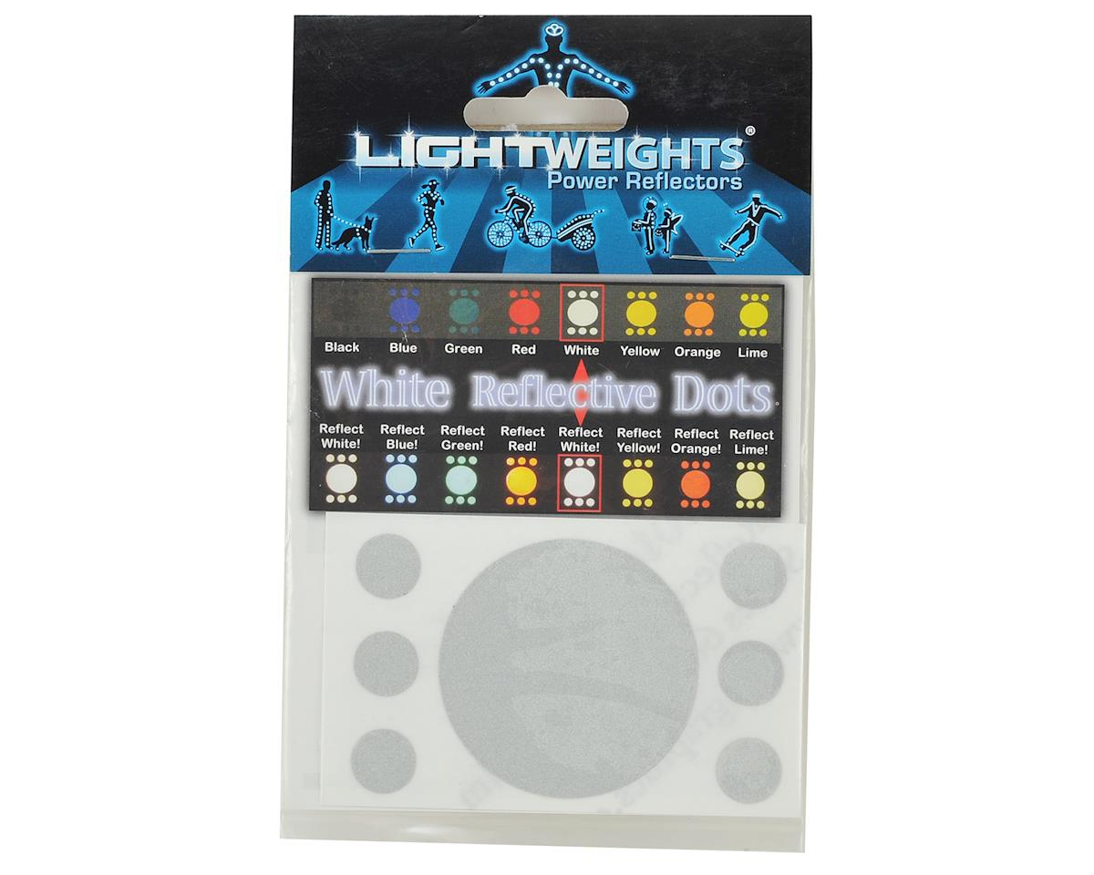 Lightweights Reflective Safety Dots (White)