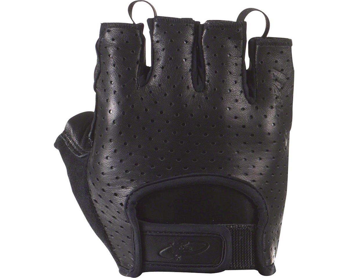Lizard Skins Aramus Classic Gloves - Jet Black, Short Finger, Small (XL)
