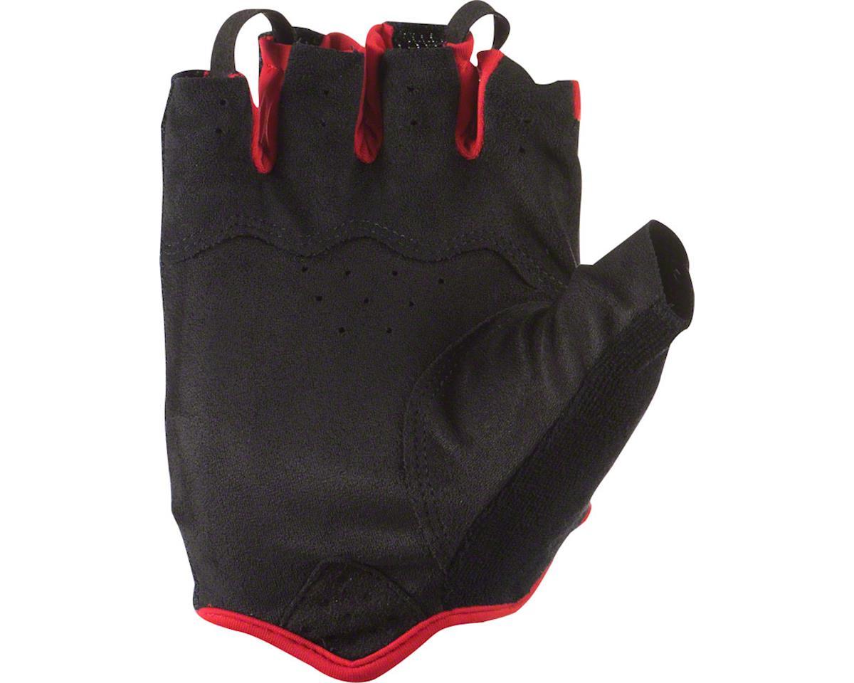 Lizard Skins Aramus Elite Gloves - Jet Black/Crimson, Short Finger, 2X-Large (L)