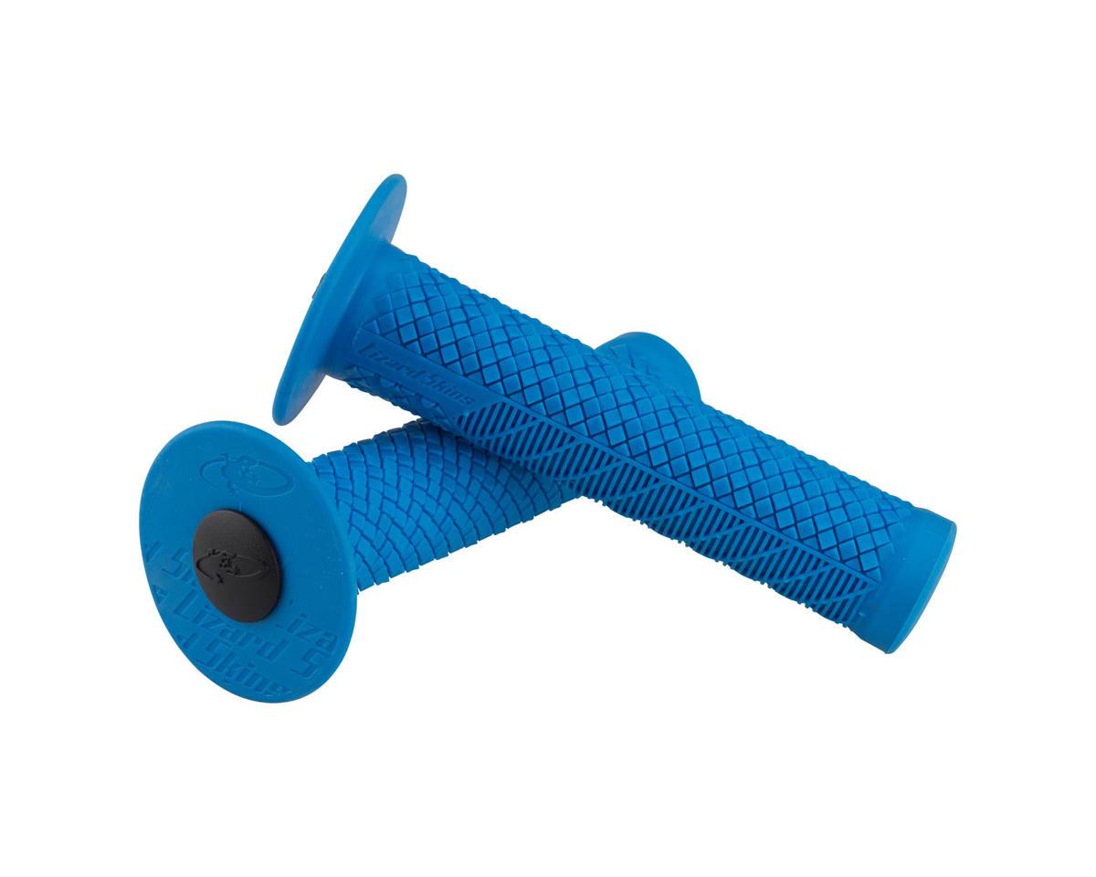 Lizard Skins Charger Evo Grips - Blue, Flange