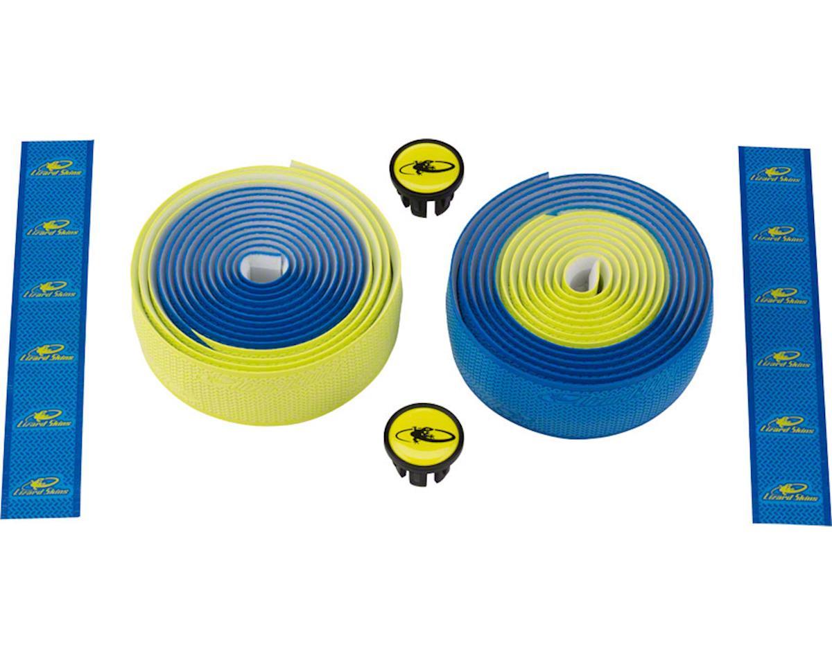 DSP 2.5mm Dual Handlebar Tape (Cobalt/Neon)