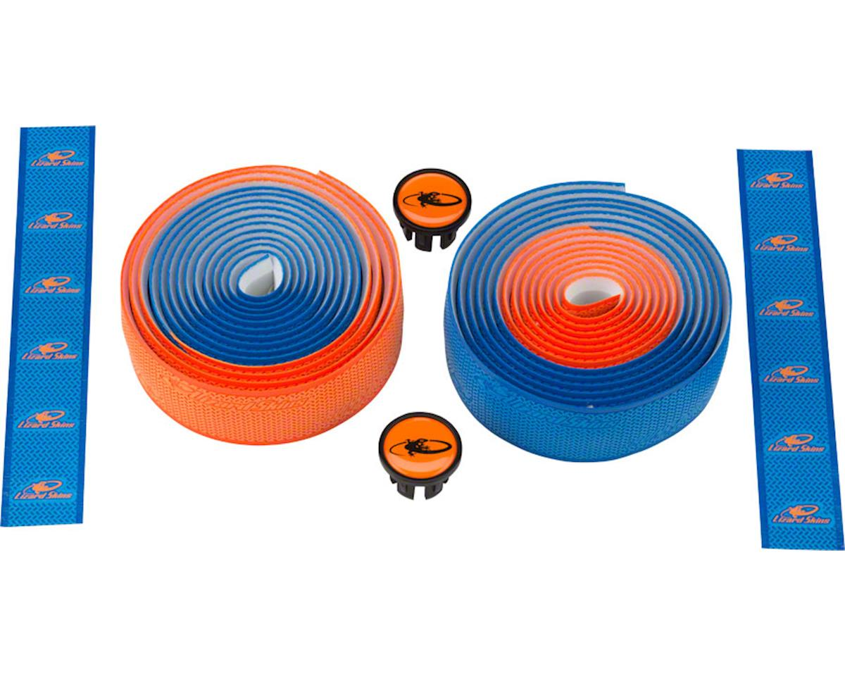 Lizard Skins DSP 2.5mm Dual Handlebar Tape (Cobalt/Orange)