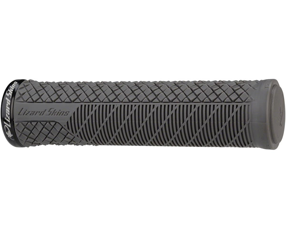 Lizard Skins Charger Evo Grips - Cool Gray, Lock-On