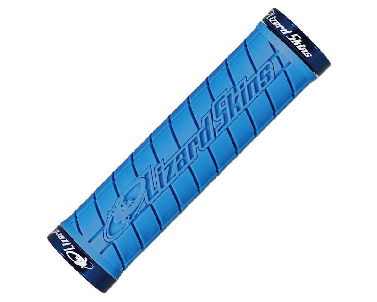 Lizard Skins Lock-On Logo Grips (Ice Blue)