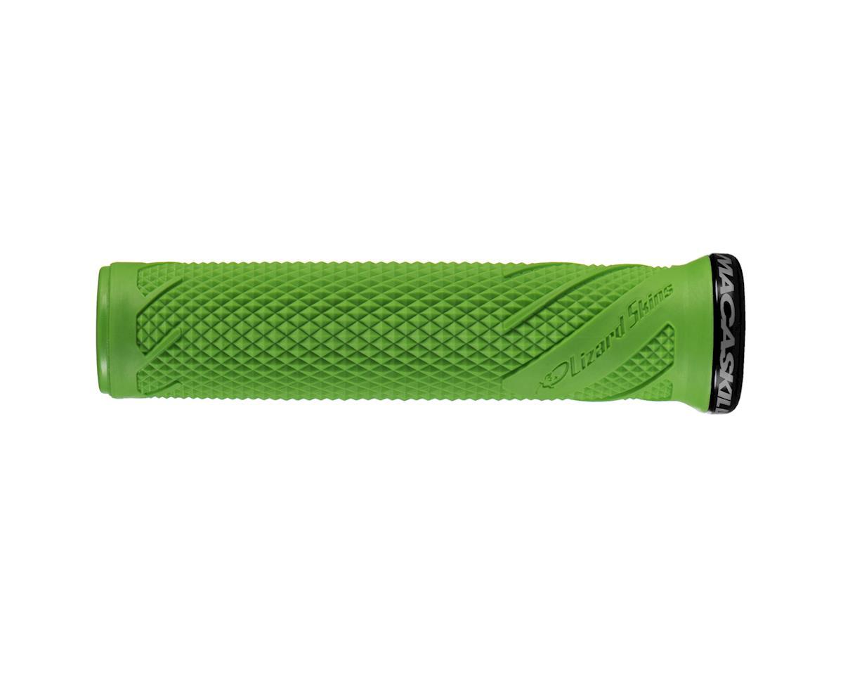 Lizard Skins Logo Lock On Grips Lime Green