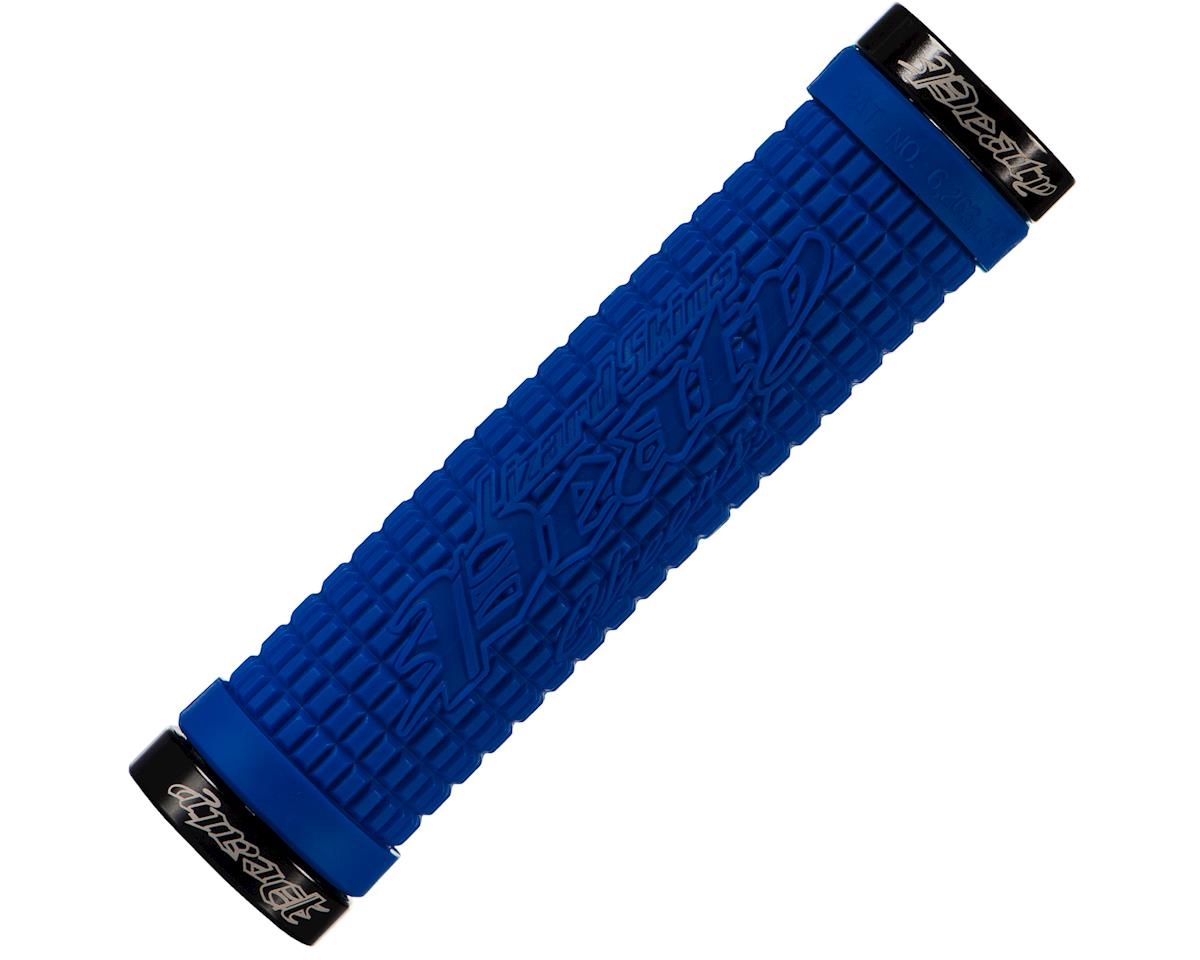 Lizard Skins Peaty Lockon Grips (Electric Blue)