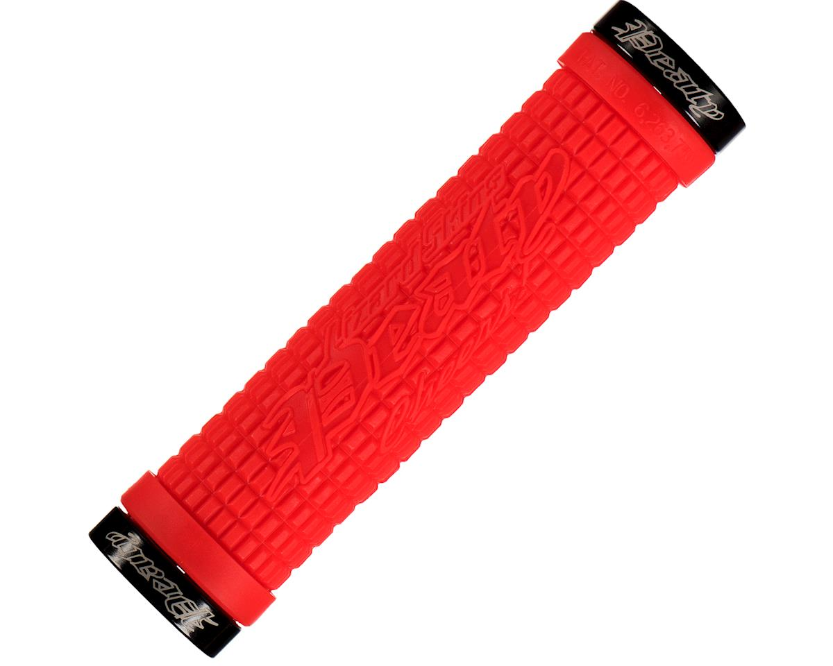 Lizard Skins Peaty Lockon Grips (Fire Red)
