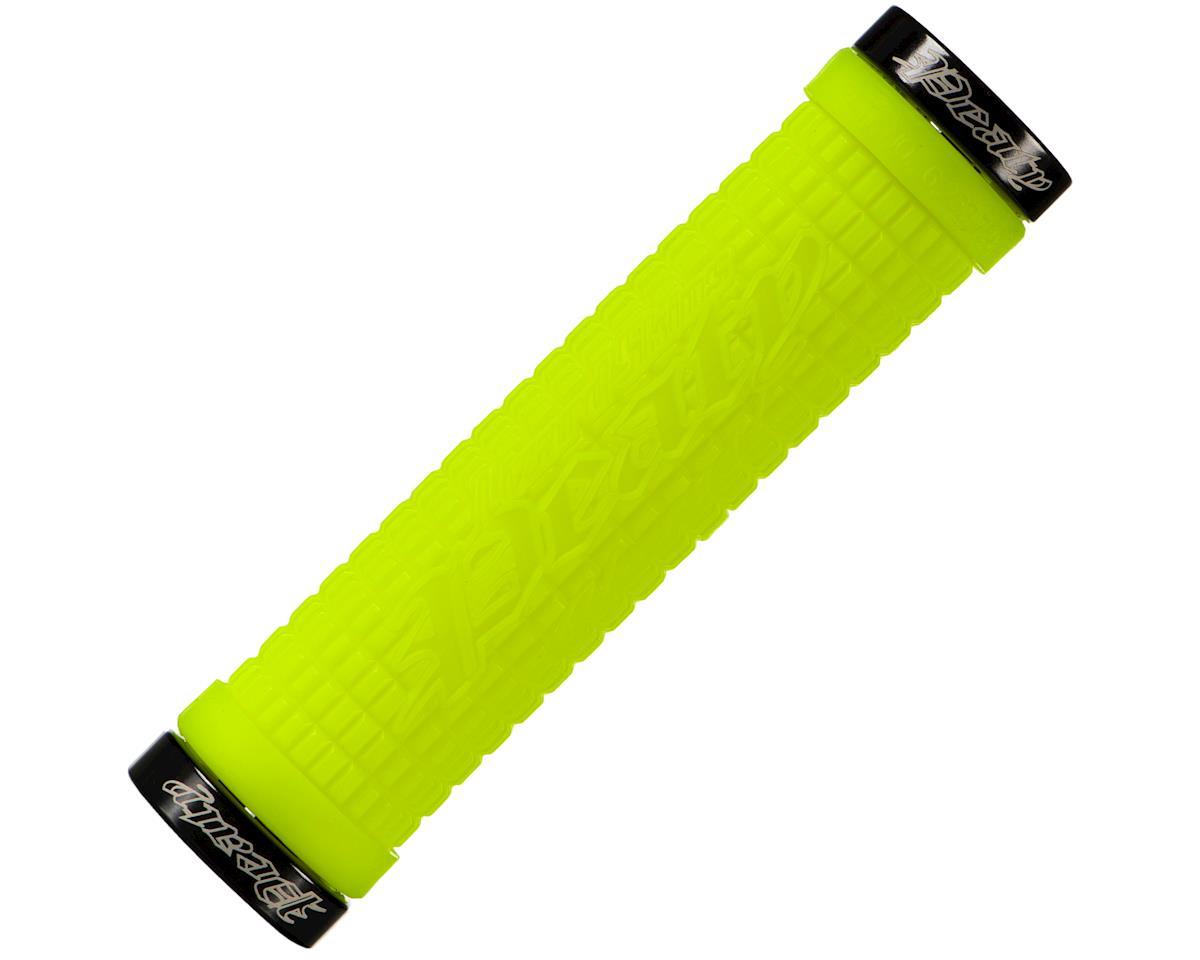 Lizard Skins Peaty Lockon Grips (Neon Green)