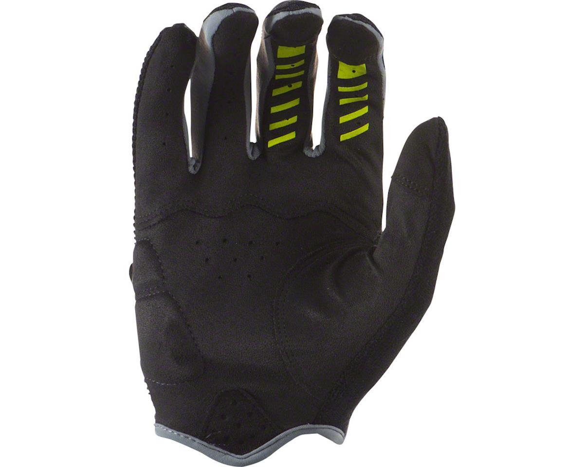 Lizard Skins Monitor AM Gloves: Jet Black/Neon LG (L)