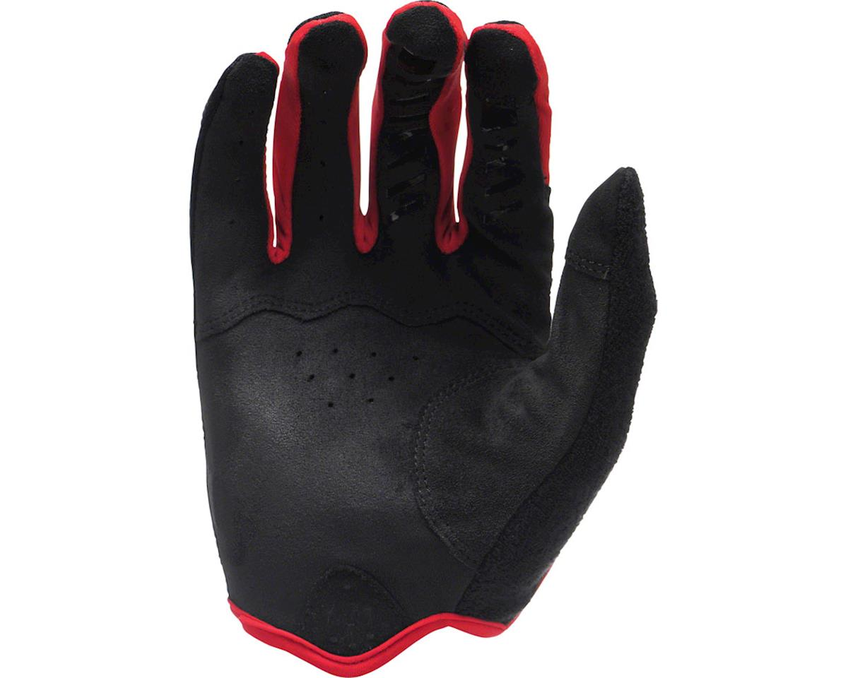 Lizard Skins Monitor AM Gloves: Jet Black/Neon LG (S)