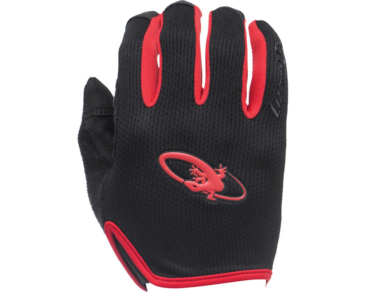 Lizard Skins Monitor AM Gloves: Jet Black/Neon LG (XL)