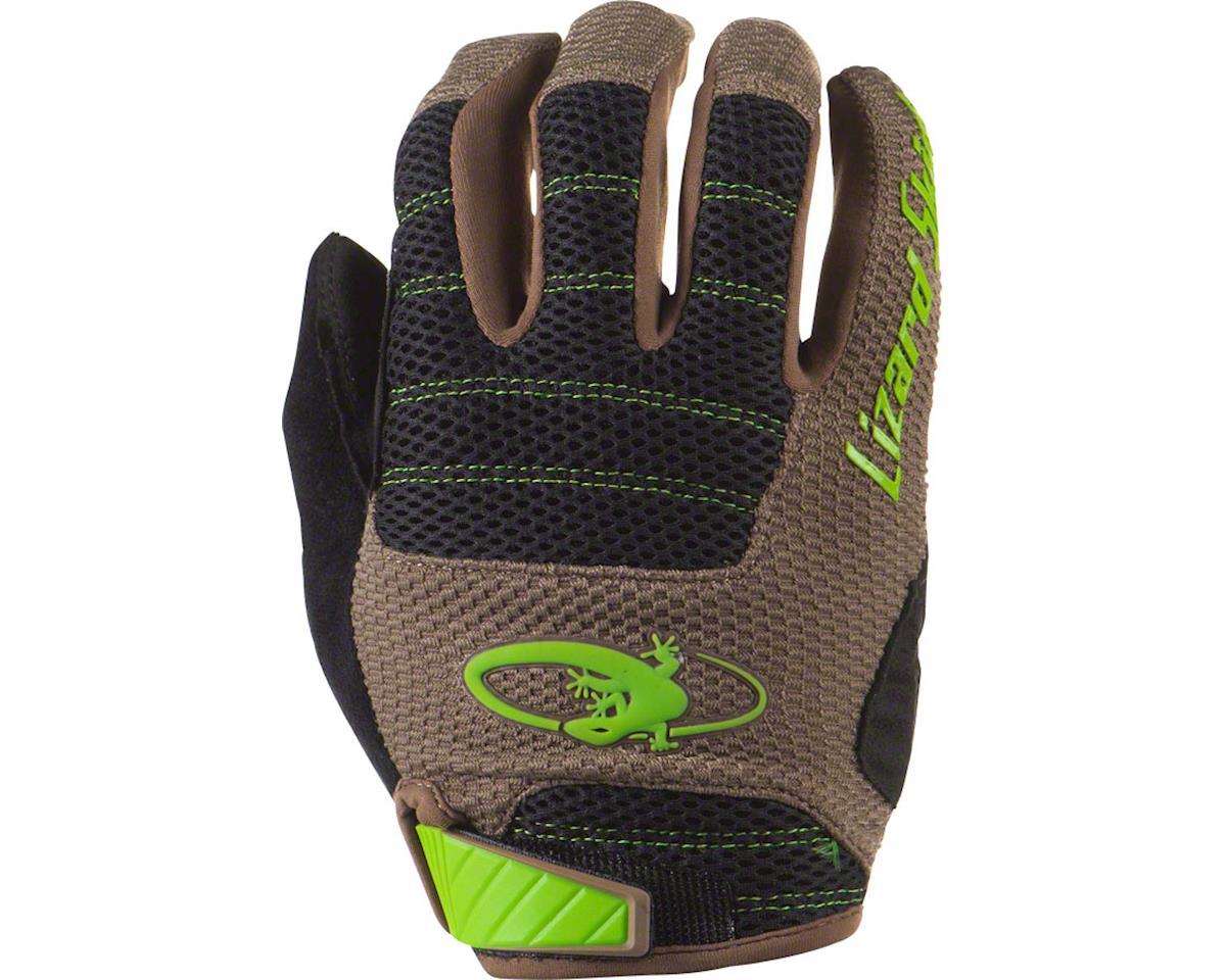 Lizard Skins Monitor AM Gloves - Jet Black/Neon Yellow, Full Finger, Small (L)