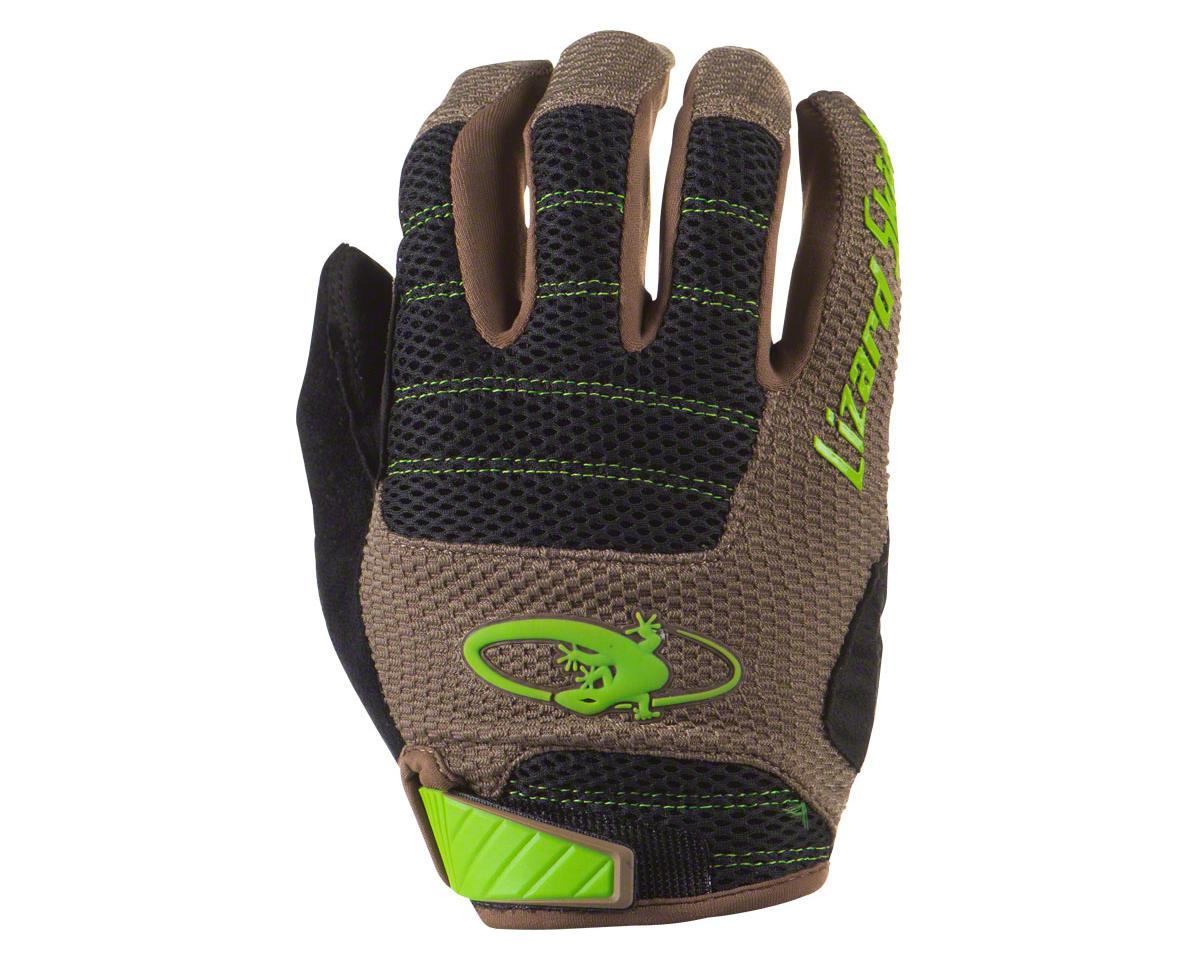 Lizard Skins Monitor AM Gloves - Jet Black/Neon Yellow, Full Finger, Small (S)