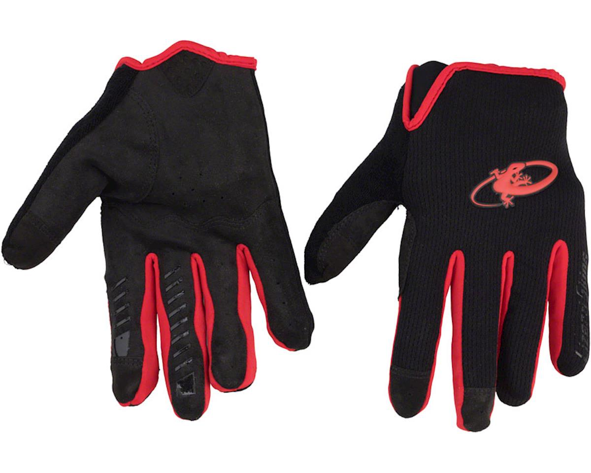 Lizard Skins Monitor Gloves - Blue Strike, Full Finger, Large (L)