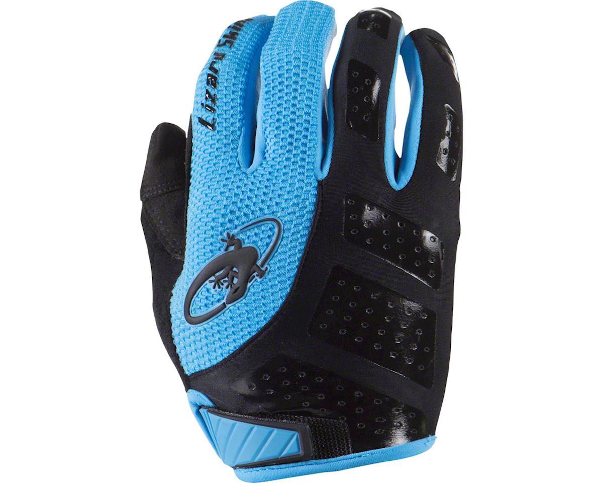 Lizard Skins Monitor SL Full Finger Gloves (Jet Black/Blue) (2XL)