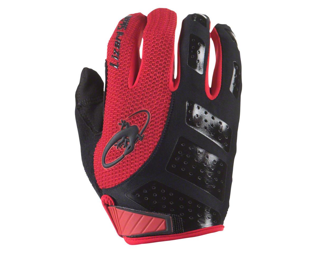 Lizard Skins Monitor SL Full Finger Gloves (Jet Black/Red) (S)