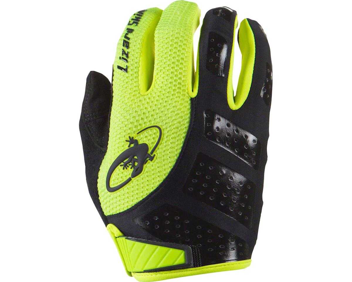 Lizard Skins Monitor SL Full Finger Gloves (Jet Black/Hi-Viz) (S)